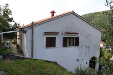 Mošćenička Draga, Opatija, Alloggio 7786 - Appartamenti e camere con la spiaggia ghiaiosa.