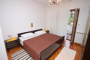Mošćenička Draga, Camera da letto   nell'alloggi del tipo room, condizionatore disponibile e WiFi.