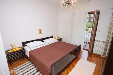 Mošćenička Draga, Spalnica v nastanitvi vrste room, dostopna klima in WiFi.