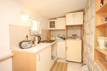 Lastovo, Kitchen in the apartment, dopusteni kucni ljubimci.