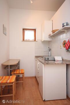 Kraj, Kitchen in the studio-apartment, WIFI.