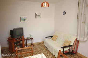Uvala Ljubljeva, Living room in the apartment, WIFI.