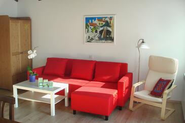 Opatija - Pobri, Living room in the apartment, dostupna klima, dopusteni kucni ljubimci i WIFI.