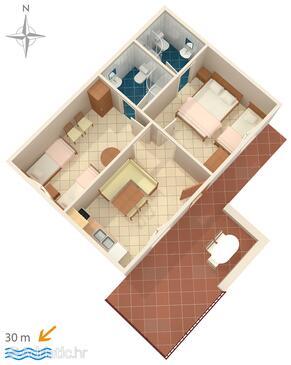 Stomorska, План в размещении типа apartment, Домашние животные допускаются и WiFi.