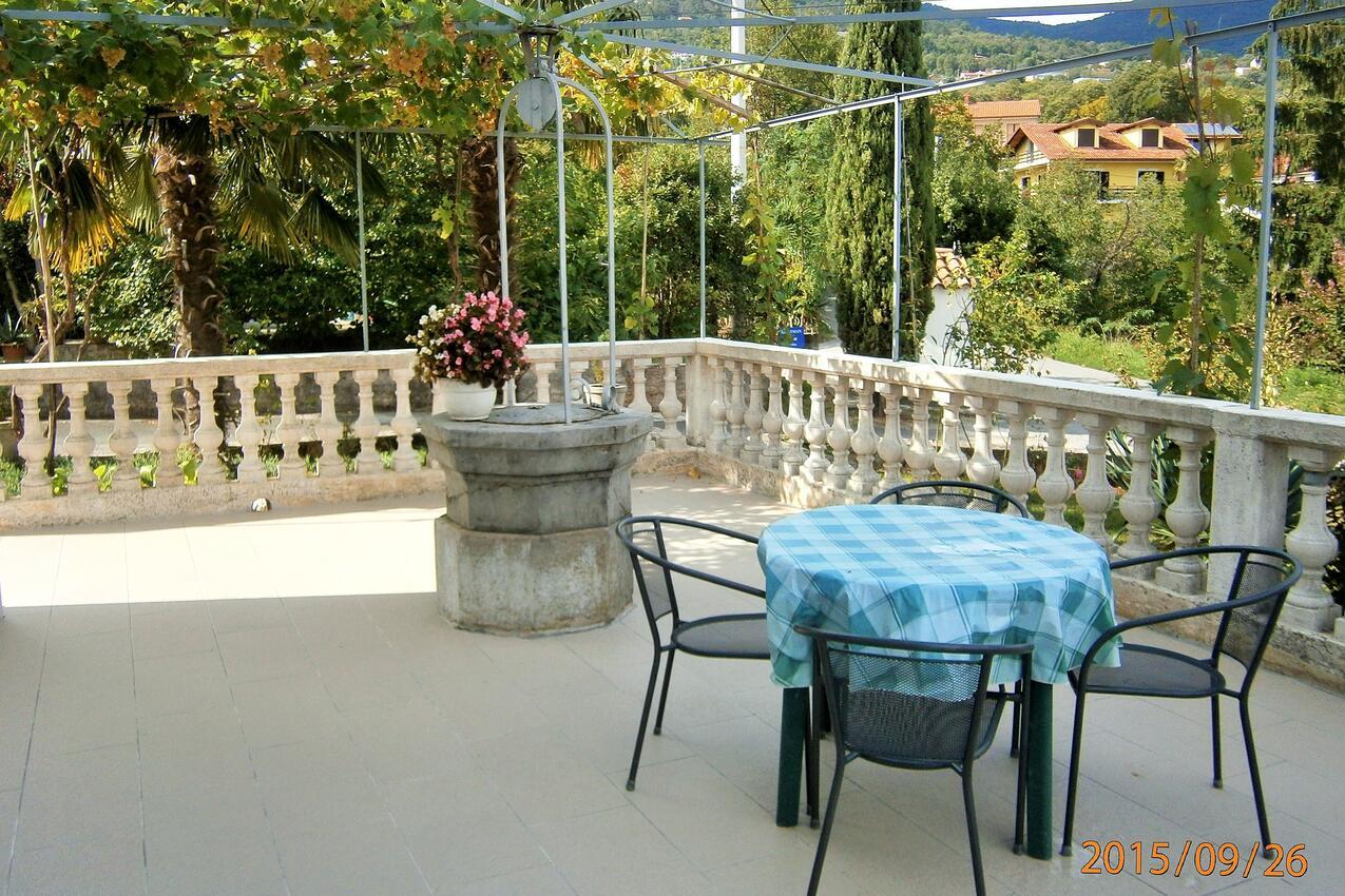 Ferienwohnung im Ort Poljane (Opatija), Kapazität 4+1 (1911175), Poljane, , Kvarner, Kroatien, Bild 15