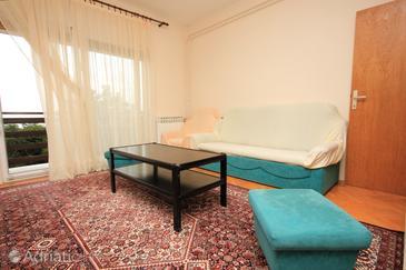 Rijeka, Living room in the apartment.