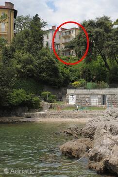 Opatija, Opatija, Property 7830 - Apartments near sea with pebble beach.