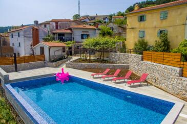 Obrš, Opatija, Property 7835 - Vacation Rentals with pebble beach.