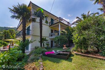 Lovran, Opatija, Объект 7837 - Апартаменты вблизи моря с галечным пляжем.