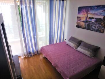 Ičići, Гостиная в размещении типа studio-apartment, доступный кондиционер, Домашние животные допускаются и WiFi.