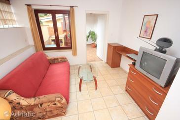 Opatija - Volosko, Living room in the apartment, dopusteni kucni ljubimci.