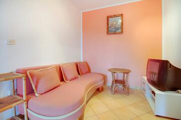 Mali Lošinj, Dnevna soba v nastanitvi vrste apartment, Hišni ljubljenčki dovoljeni in WiFi.