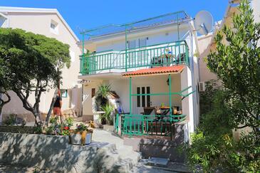 Brela, Makarska, Obiekt 788 - Willa ze żwirową plażą.