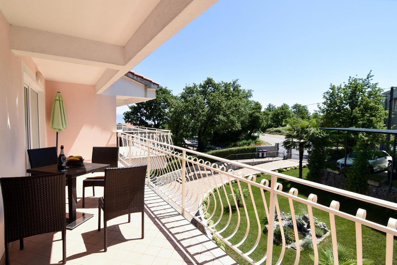 Ferienwohnung im Ort Poljane (Opatija), Kapazität 2+2 (1012288), Poljane, , Kvarner, Kroatien, Bild 17