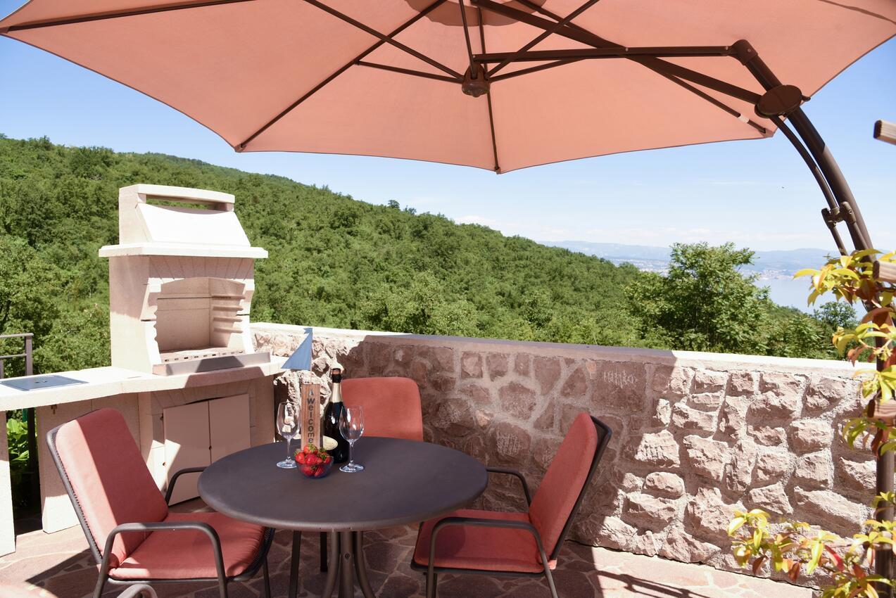Ferienwohnung Studio Appartment im Ort Poljane (Opatija), Kapazität 2+1 (2204563), Poljane, , Kvarner, Kroatien, Bild 1