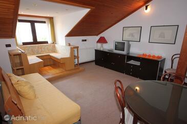 Opatija, Living room in the apartment, dopusteni kucni ljubimci.