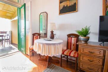 Opatija - Volosko, Jídelna v ubytování typu studio-apartment, domácí mazlíčci povoleni.