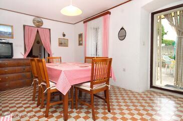 Sveti Jakov, Dining room in the house, dopusteni kucni ljubimci.