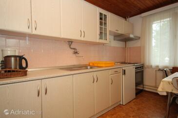 Mali Lošinj, Kuchyně v ubytování typu apartment, domácí mazlíčci povoleni a WiFi.
