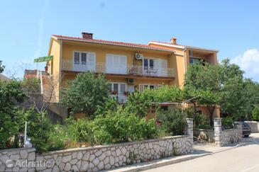 Cres, Cres, Alloggio 7994 - Appartamenti affitto con la spiaggia ghiaiosa.