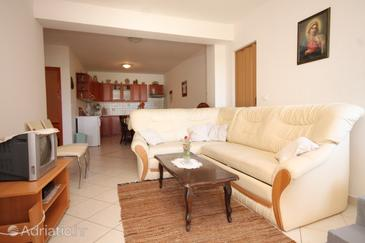 Ćunski, Living room in the apartment, WIFI.