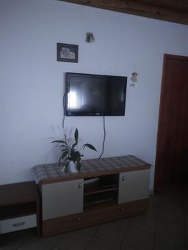 Ćunski, Dnevni boravak u smještaju tipa apartment, dostupna klima i WiFi.