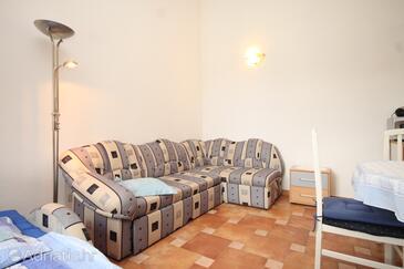 Sveti Jakov, Столовая в размещении типа apartment, доступный кондиционер, Домашние животные допускаются и WiFi.