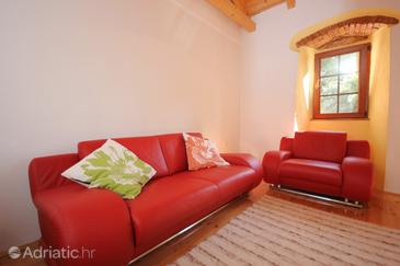 Mali Lošinj, Living room in the house, air condition available and WiFi.