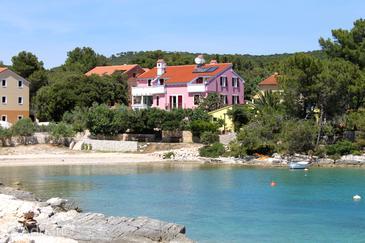 Artatore, Lošinj, Objekt 8023 - Ubytování v blízkosti moře s oblázkovou pláží.