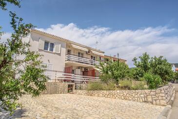 Cres, Cres, Alloggio 8036 - Appartamenti affitto con la spiaggia ghiaiosa.
