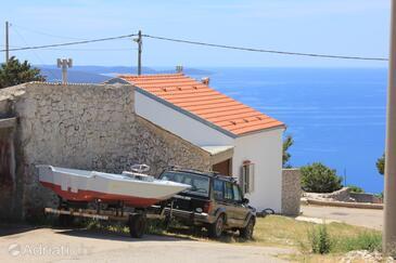 Ustrine, Cres, Propiedad 8037 - Alquiler de Vacaciones with pebble beach.