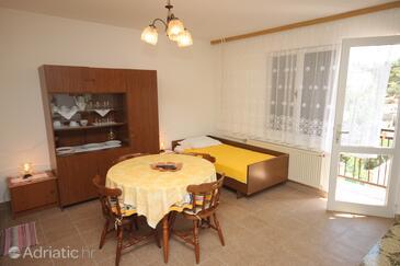 Mali Lošinj, Dining room 1 in the apartment.