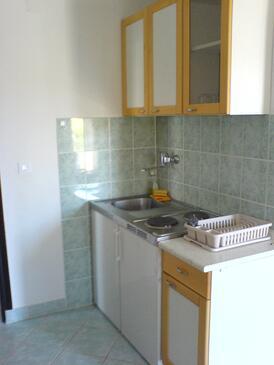 Ždrelac, Kuhinja u smještaju tipa apartment, kućni ljubimci dozvoljeni.