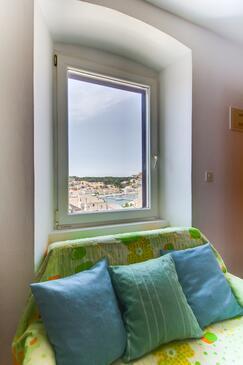 Mali Lošinj, Camera di soggiorno nell'alloggi del tipo apartment, animali domestici ammessi e WiFi.