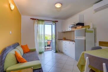 Mali Lošinj, Sala de estar in the apartment, (pet friendly) y WiFi.