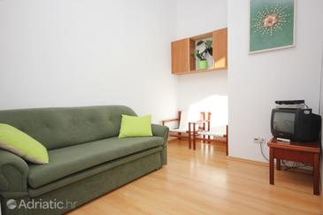 Ilovik, Living room in the apartment, dostupna klima, dopusteni kucni ljubimci i WIFI.