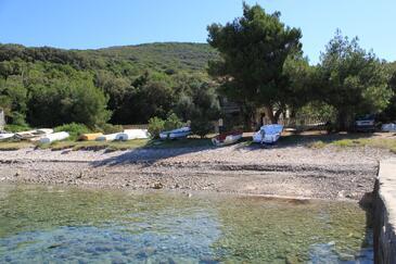 Merašćica, Cres, Objekt 8071 - Ubytovanie blízko mora s kamienkovou plážou.