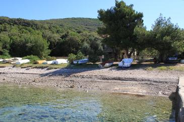 Merašćica, Cres, Property 8071 - Apartments near sea with pebble beach.