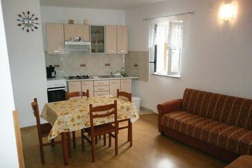 Valun, Столовая в размещении типа apartment, WiFi.