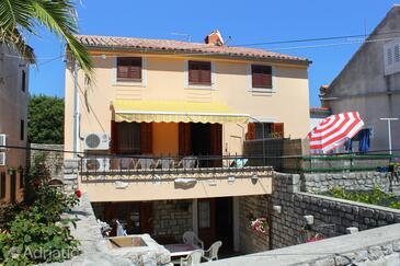 Osor, Lošinj, Объект 8088 - Апартаменты вблизи моря с галечным пляжем.