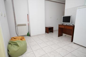 Mali Lošinj, Living room in the apartment, dopusteni kucni ljubimci i WIFI.