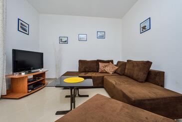 Veli Rat, Obývací pokoj v ubytování typu house, WiFi.