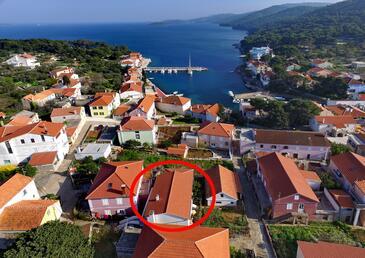 Božava, Dugi otok, Property 8097 - Apartments by the sea.