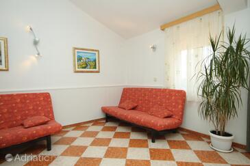 Božava, Obývací pokoj v ubytování typu apartment, WiFi.