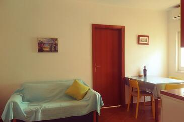 Sali, Living room in the apartment, dopusteni kucni ljubimci.