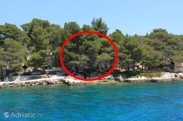 Lavdara, Dugi otok, Property 8114 - Apartments by the sea.