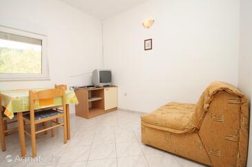 Božava, Гостиная в размещении типа apartment, доступный кондиционер, Домашние животные допускаются и WiFi.