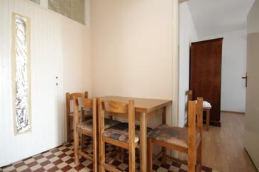 Savar, Dining room in the apartment.