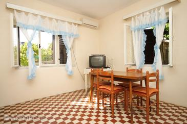Savar, Dining room in the apartment, air condition available and WiFi.