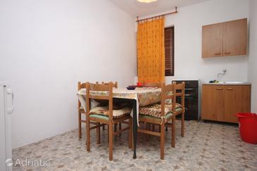 Zaglav, Dining room in the apartment, (pet friendly).